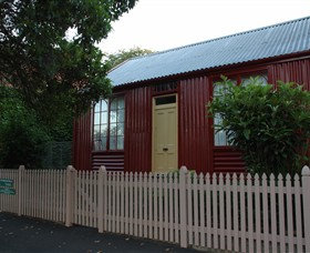 19th Century Portable Iron Houses - Accommodation Port Macquarie