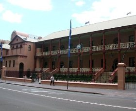 Parliament House - Accommodation Port Macquarie